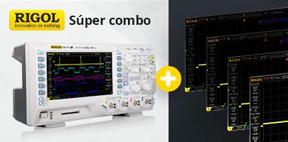 ¡Súper combo de RIGOL – opciones de software gratis!